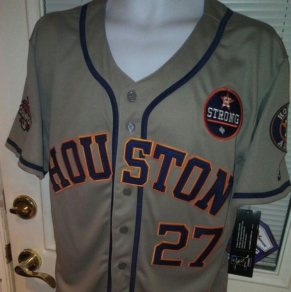 best website e69c3 b55fb HOUSTON ASTROS GRAY NWT JERSEY NWT